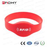 Wristband clássico do silicone de MIFARE 4k NFC