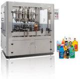 Линейный тип машина для прикрепления этикеток машины завалки масла машины завалки смазки масла