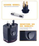 Всемирный неразъемный заряжатель USB штепсельной вилки 2A преобразования стены заряжателя перемещения безопасности для он-лайн розницы