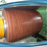 Holz-und Ziegelstein-Musterzink beschichteter vorgestrichener Gi galvanisierte Stahlring