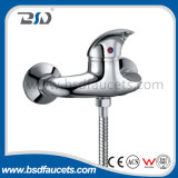Faucet fixado na parede de bronze do misturador do chuveiro do banho da banheira do punho do zinco