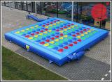 Gioco interattivo di gioco del calcio gonfiabile divertente per gli adulti o i capretti T9-004