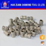 7.2mm alambre del diamante vio para el granito de bolas de perfiles de la herramienta de diamante Huazuan