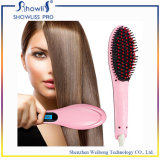 Showliss Digital Ceramic PTC LCD Magic Hair Straightener Brush