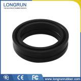 Kundenspezifischer industrieller geformter Silikon-Gummi zerteilt O-Ring