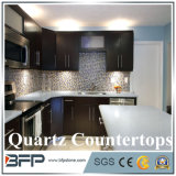 Bancadas cinzentas brancas de quartzo