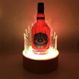 Vendita al dettaglio LED del vino che illumina il banco di mostra della contro parte superiore