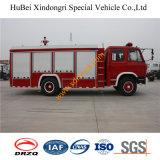 camion dei vigili del fuoco Euro4 dell'autocisterna dell'acqua di 6ton Dongfeng