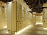Локер замка цифров изменяя комнаты двери деревянного зерна одиночный