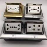 AluminiumNetzdose der platten-120*120mm elektrische des Fußboden-250V/10A
