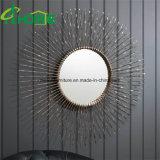Arte nuevo metal de hierro forjado decorativo de la pared del espejo