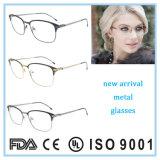 Aus rostfreiem Stahl Brille-Großhandelsgläser optisches Eyewear