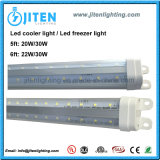 v 모양 LED 냉각기 빛 냉장고 빛 30W LED 냉각기 안 문 빛 ETL Dlc