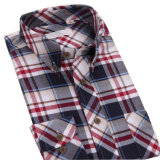 Camisas de alineada modificadas para requisitos particulares del diseño de Oxford Fshion de los hombres de las camisas