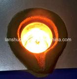 plata de la inducción de la eficacia alta 45kw y horno fusorio del oro