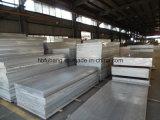 Hoja de aluminio 6061 T6 con la película protectora o el papel de plata