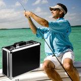 Sunshieldのホックおよびループ接続機構が付いている水中魚のファインダーのビデオ・カメラ