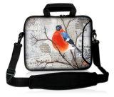 """Configuration 17 de dessin animé """" 17.3 """" courroies de transport de couverture + d'épaule de caisse de chemise de sac d'ordinateur portatif du néoprène"""
