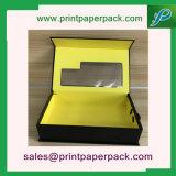 Caja de embalaje del perfume del maquillaje del recorrido del caso del regalo cosmético del papel