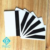プログラム可能な黒PVCカードの気違いかHicoの磁気ストライプのカード