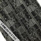 Tessuto di nylon del merletto del bello del reticolo cotone di disegno