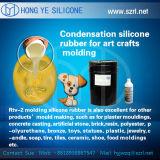 Het vloeibare Rubber van het Silicone voor het Kleine Maken van de Vorm van Ambachten