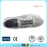 人の柔らかい織物のライニングの連続したスポーツの靴