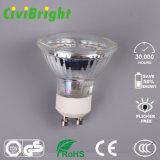 세륨 RoHS를 가진 유리제 쉘 GU10 LED 스포트라이트