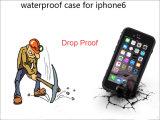 cas bon marché promotionnel de couverture de l'eau des prix 1PC/de téléphone mobile épreuve de choc/saleté pour l'iPhone 6 4.7inch 2016