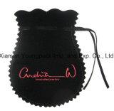 Sac à bandoulière en coton noir personnalisé