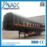 3半車軸35-60cbm暖房のアスファルト瀝青のトラックタンクトレーラー