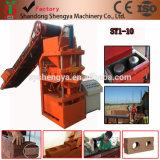 Blocchetto idraulico automatico del cemento del terreno Sy1-10 che fa la fabbrica di macchina direttamente che vende