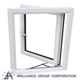 Het Openslaand raam van het aluminium met Aangemaakt Glas