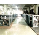 Exaustor refrigerando ao ar livre de sistema de ventilação na estufa