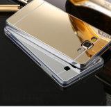 Espelho Electroplate TPU caso do telefone móvel para Samsung J5
