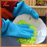 Heart Shape Resistente ao calor Food Grade Silicone Kitchen Glove