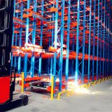 Radio Shuttle for Compact Storage in Cold Warehouse