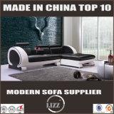 Projetos ajustados L moderno sofá do sofá da forma