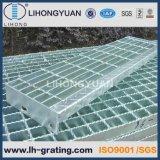 강철 구조물 플래트홈 지면을%s 직류 전기를 통한 강철 격자판