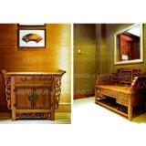 Jogo luxuoso da mobília do quarto do hotel do estilo