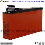 Batteria anteriore del gel di accesso 12V 100ah per sistema di telecomunicazione/solare