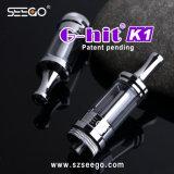 De g-Klap van de Manier van Seego de Nieuwe K1 Uitrusting van de Pen van Vape met de Tank van het Glas