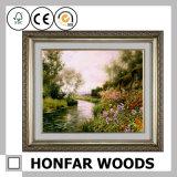 Het aangepaste Houten Moderne Decor allen van de Omlijsting rangschikt Al Kleur