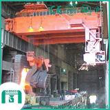 熱い金属充満クレーンQdyのタイプ倍のガードの鋳物場クレーン