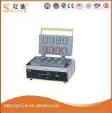 Machine croustillante de forme de blocage d'acier inoxydable pour la vente en gros