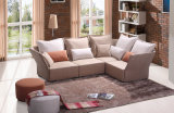 Neues modernes koreanisches Entwurfs-Gewebe-Sofa mit Ecke (HC572)