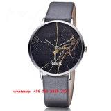 Reloj popular elegante del cuarzo con las correas de cuero para Fs539 unisex