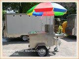 Ys-HD120A billig mobile Hotdog-Karren-im Freien äußere Karre