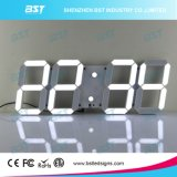 시간 날짜 동안 창조적인 실내 디지털 LED 벽시계 원격 제어를 통해 Temerature 전시