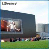La publicité extérieure de grand écran visuel polychrome de DEL, luminosité imperméable à l'eau et intense